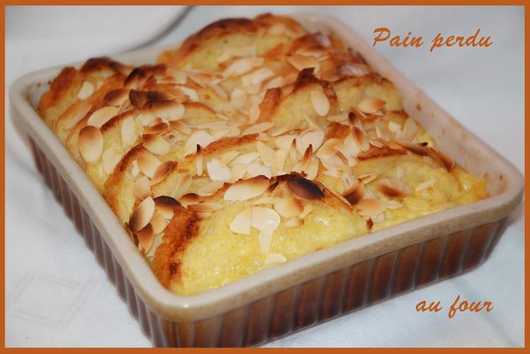 Recette de pain perdu au four la recette facile - Decongeler au four traditionnel ...