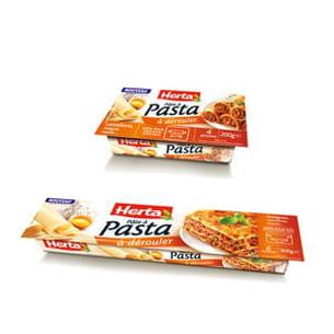 pâtes à pasta petit et grand format