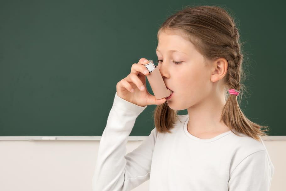 Asthme à l'école : quelle prise en charge pour mon enfant ?