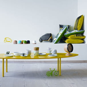 table basse murcia jaune de bo concept