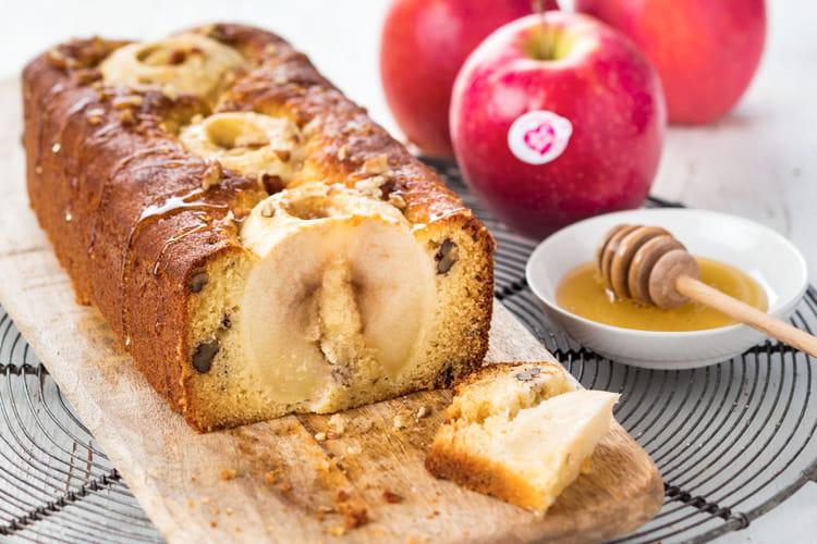 Cake aux Pink Lady® et miel