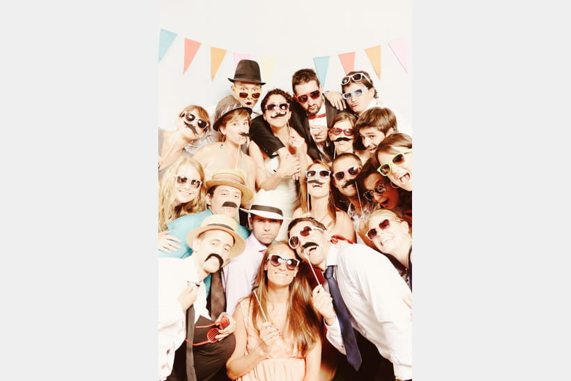 Photobooth 20 id es originales pour votre mariage - Idees mariages originales ...
