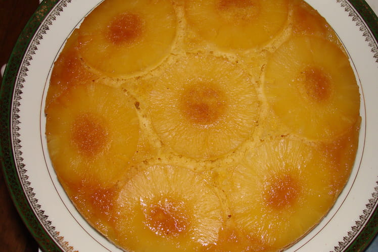 Gâteau renversé à l'ananas inratable