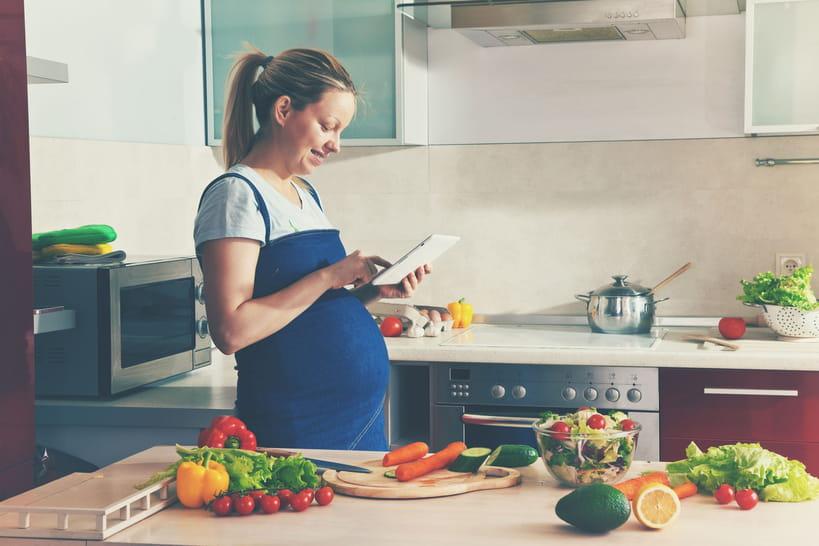 30recettes pour femmes enceintes rapides et gourmandes