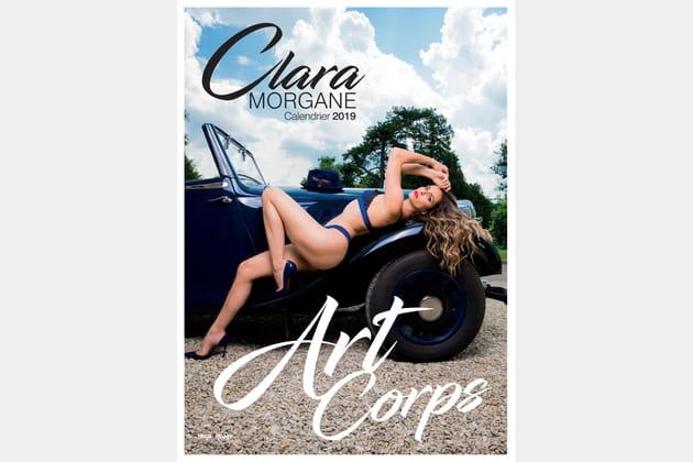 Clara Morgane présente ART CORPS, son calendrier sexy 2019