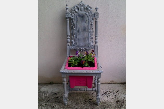 Sur le trône