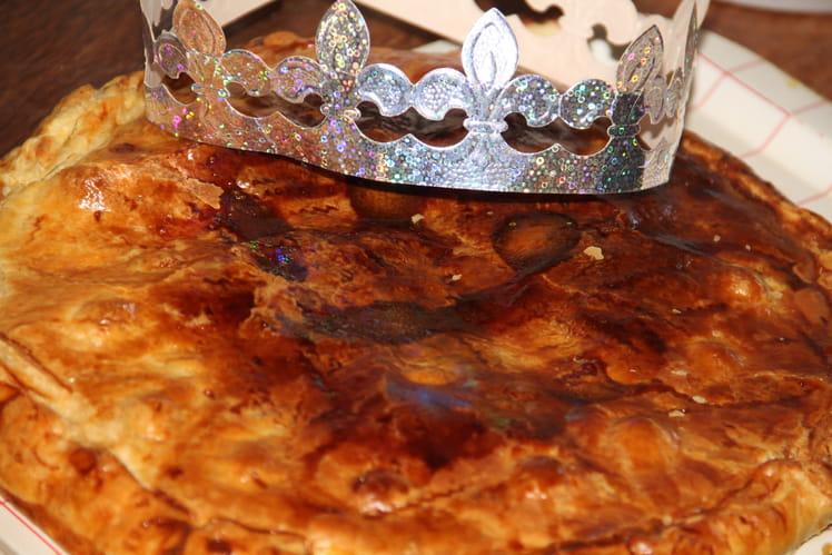Galette des rois framboises, cranberries et pistaches