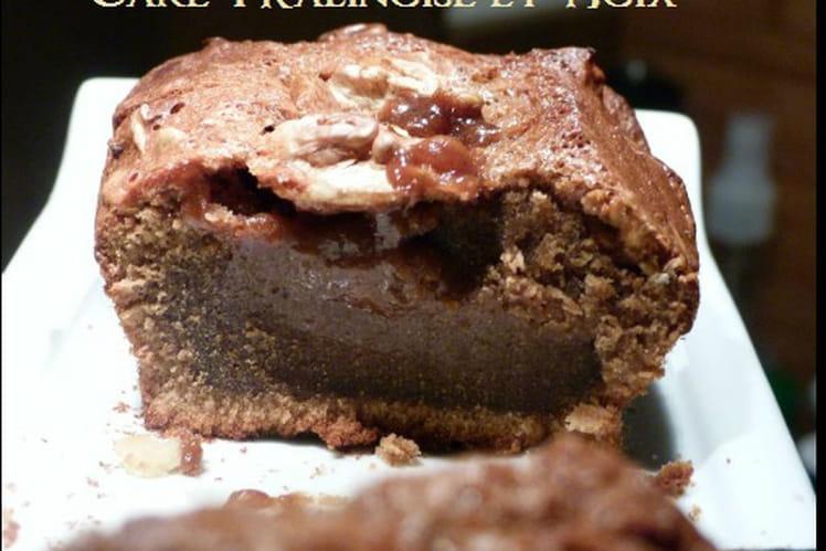 Cake pralinoise et noix