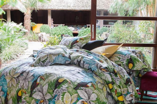 Du linge de lit à imprimé jungle