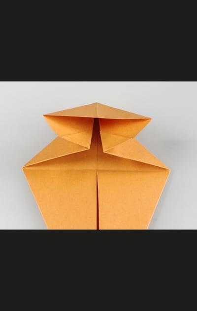 Origami chat - Etape 8
