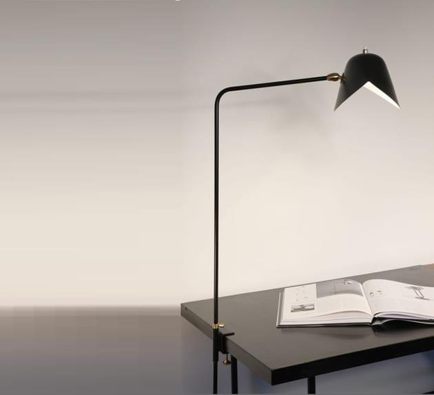 Lampe Agrafée par Serge Mouille