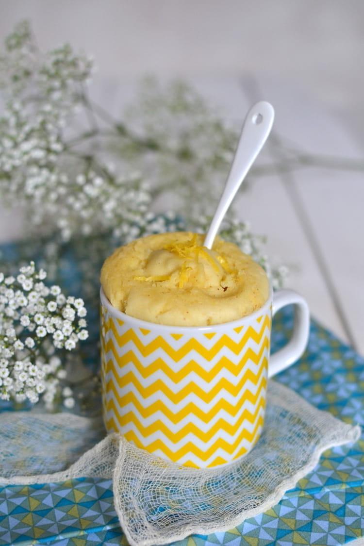 Mug Cake Citron Sans Farine