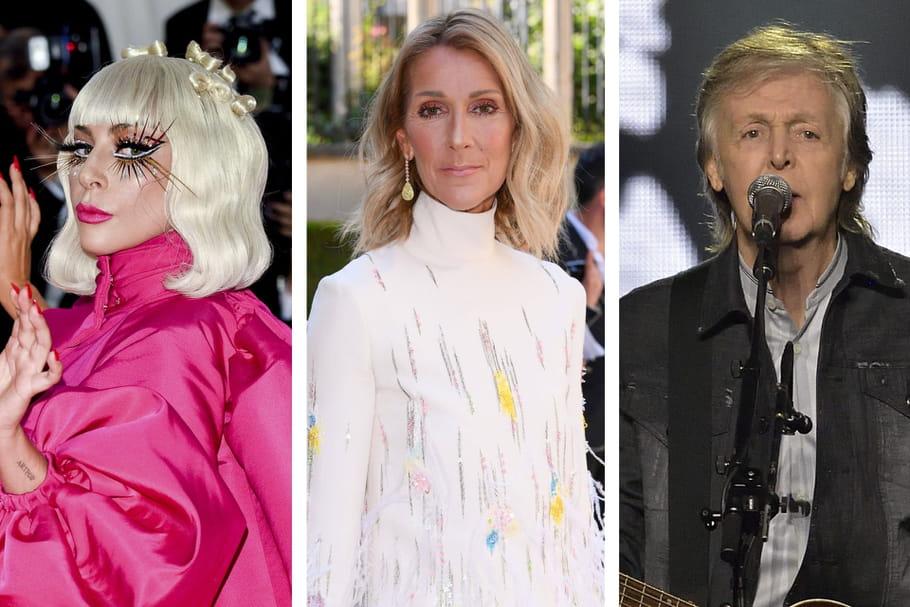 Concert de Lady Gaga: Céline Dion, Paul Mc Cartney et toutes les stars réunies ce soir...