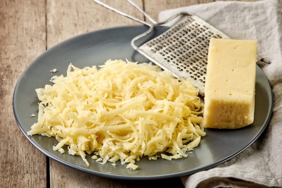 Comment conserver le fromage râpé?