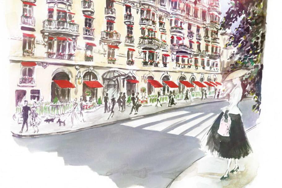 Le Plaza Athénée honore Dior par le menu