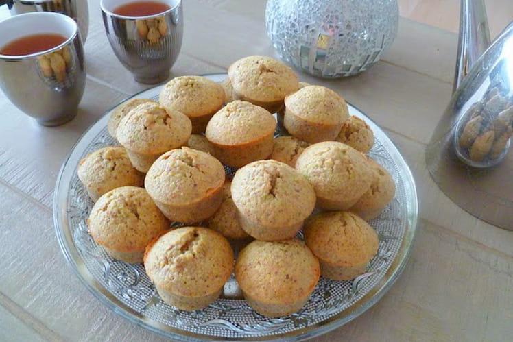 Mini muffins à la pistache et à l'eau de rose