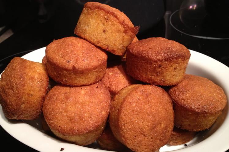Mini muffins au pralin