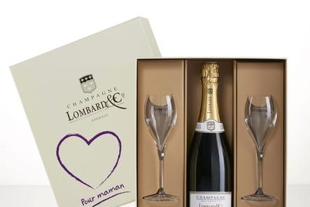 Coffret pour maman de Champagne Lombard & Cie