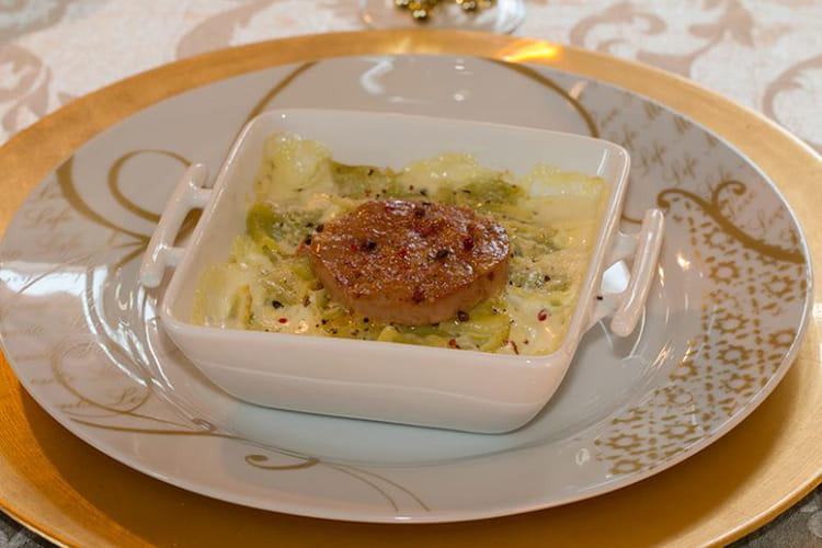 Ravioles du Dauphiné au foie gras