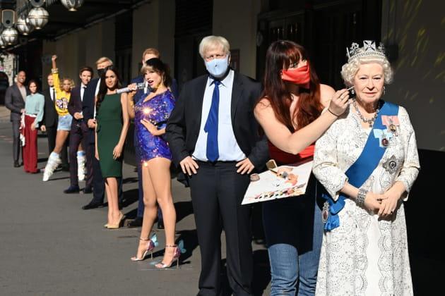 Le musée de Madame Tussauds rouvre ses portes