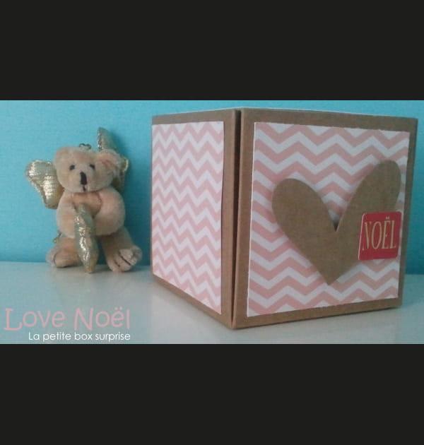 Customiser une box cadeau de Noël à offrir