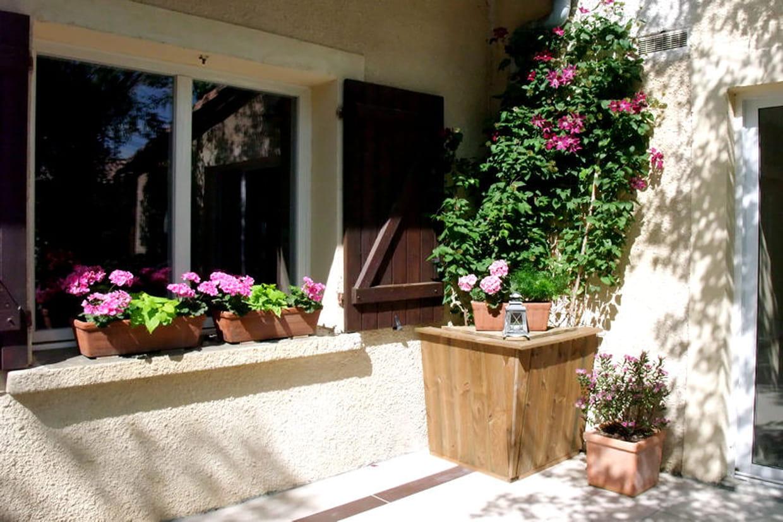 Cl matites sur la terrasse - Deco jardin colore le mans ...