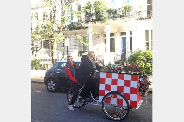 Hélène Darroze, toute roule à Londres
