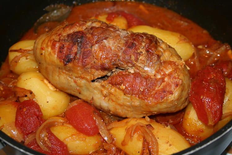 Rôti de dindonneau au curry
