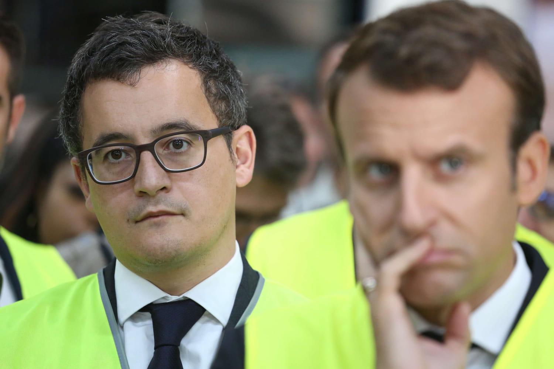 """Macron, """"d'homme à homme"""" avec Darmanin accusé de viol: un scandale"""