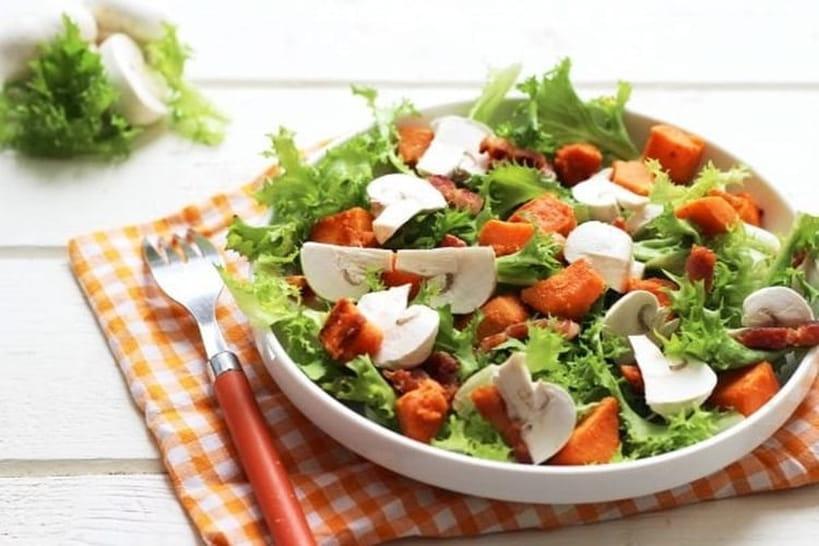 Recettes de salades pour l'hiver