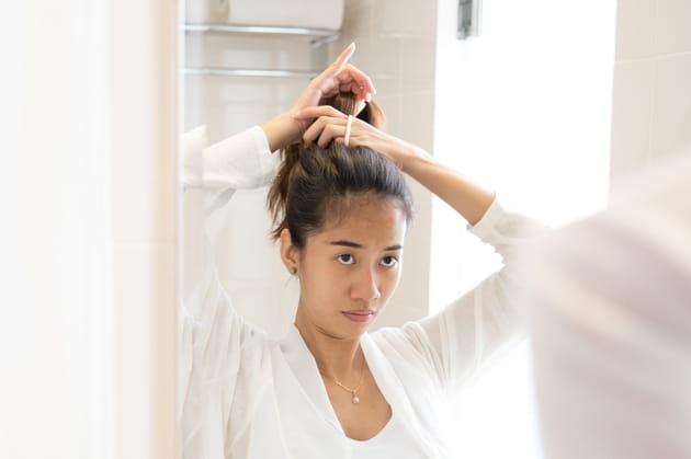 Ne pas s'attacher les cheveux