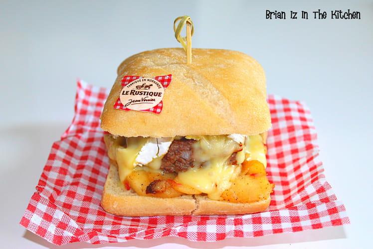 Burger aux saveurs normandes