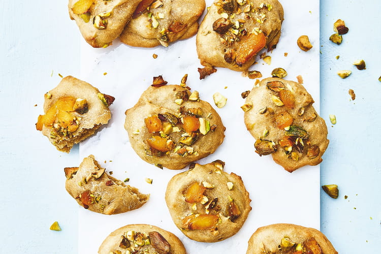 Cookies pistache et abricot