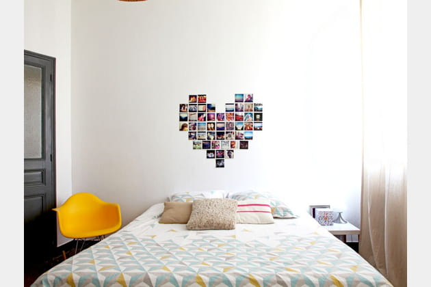 une d co murale personnalis e. Black Bedroom Furniture Sets. Home Design Ideas