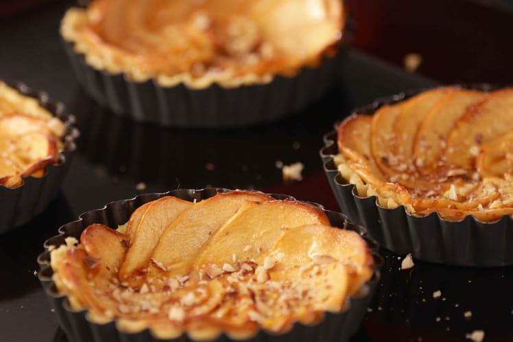 Tartes aux pommes au caramel salé façon Planta Fin
