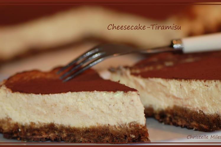 Cheesecake façon tiramisu