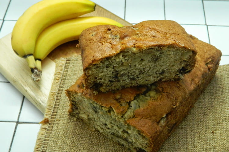 Cake banana bread