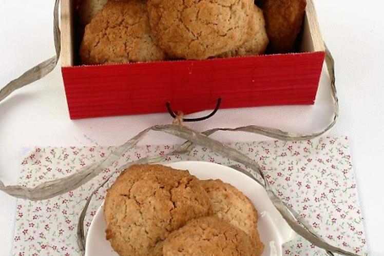 Cookies banane, flocons de millet, sans oeufs sans gluten