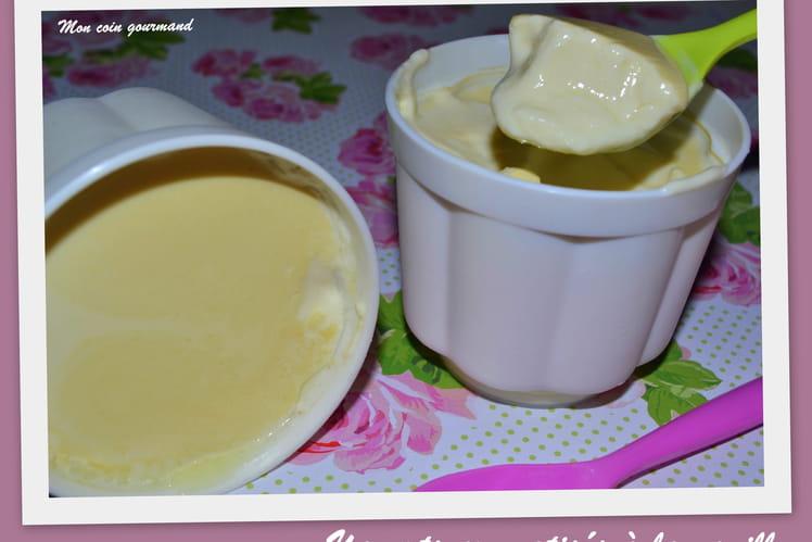 Yaourts aromatisés à la vanille