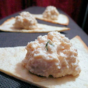 rillettes express au saumon