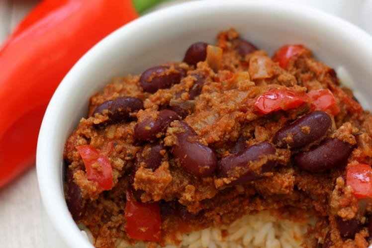 Chili con carne gourmand