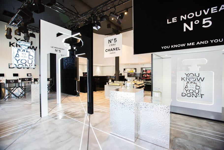 Chanel Parfums Beauté ouvre sa seconde boutique à Paris