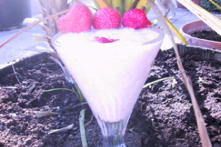 Milk-shake aux fraises
