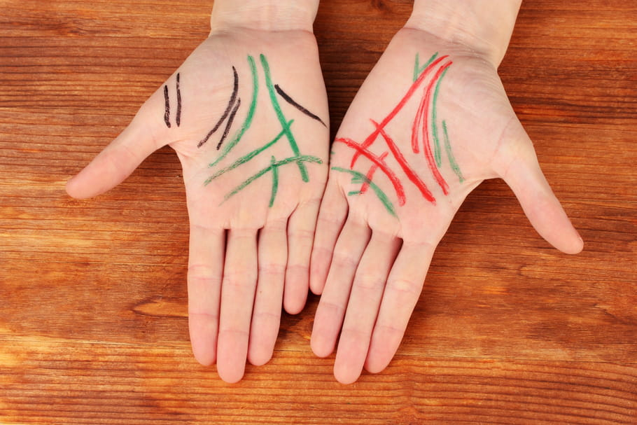 Chiromancie: apprendre à lire les lignes de la main