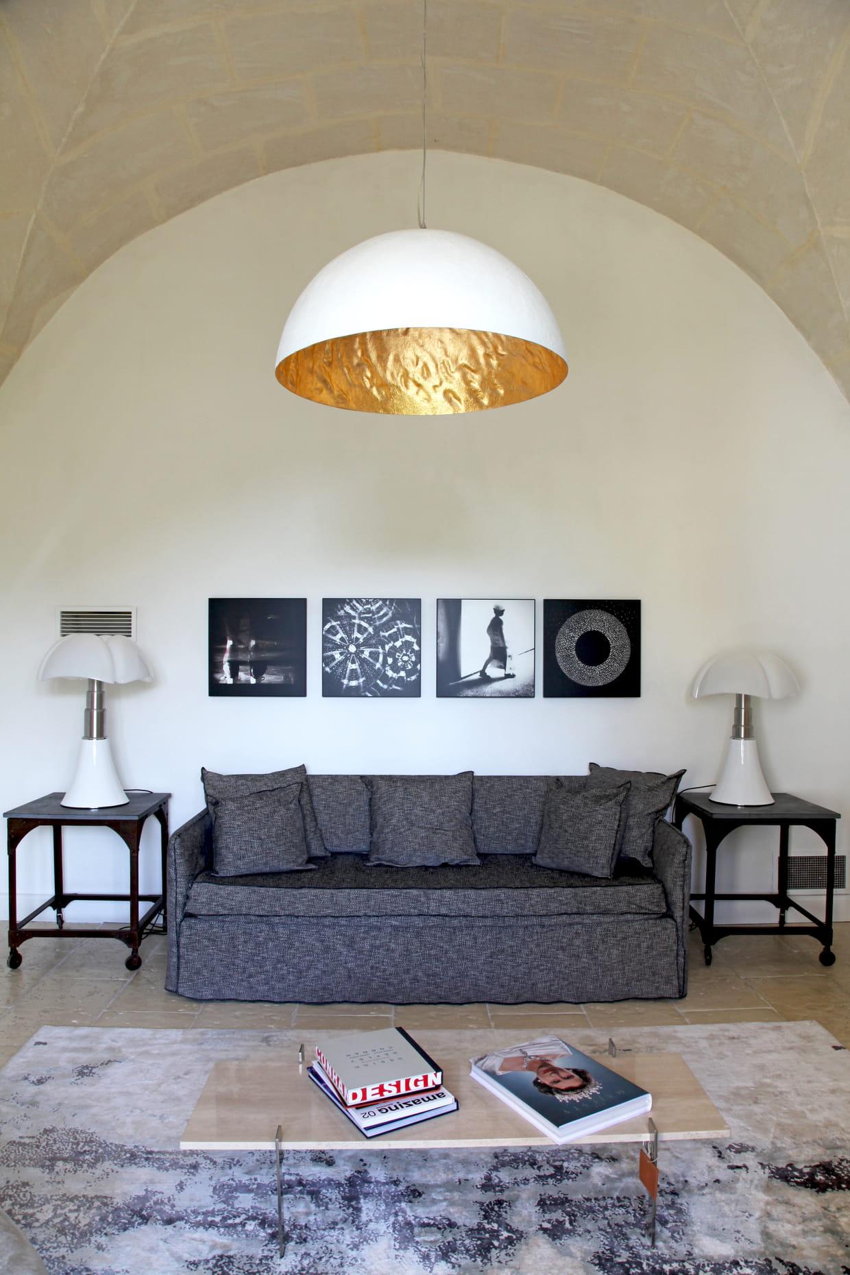 Un salon moderne for Un salon moderne