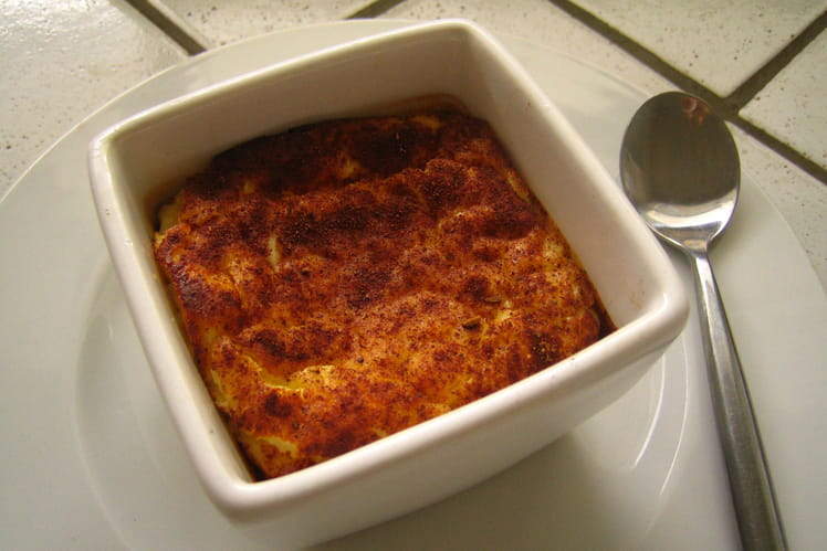 Entremets au fromage blanc