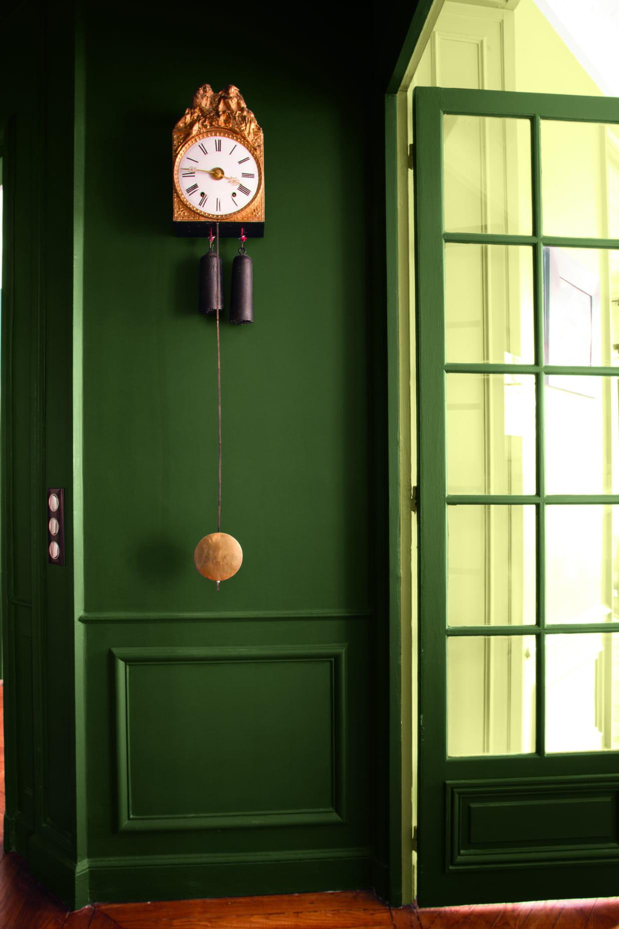 peinture vert amazone par tollens. Black Bedroom Furniture Sets. Home Design Ideas