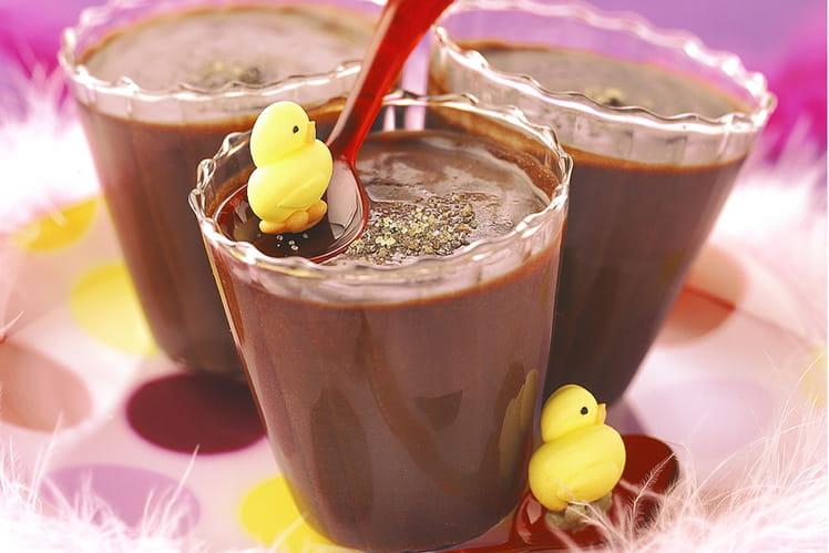 Crème au chocolat à la cassonade