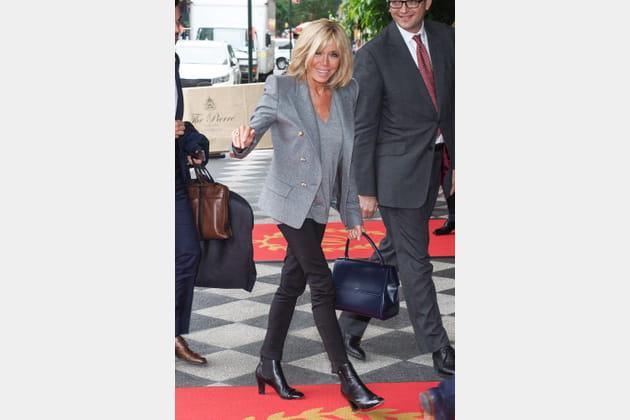 Brigitte Macron le 18septembre 2017