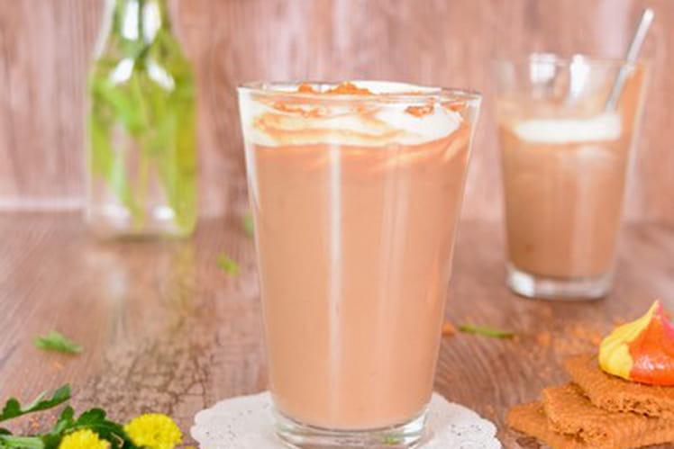 Chocolat chaud au spéculoos